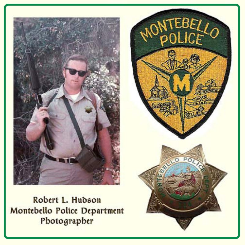 robert hudson photographer who carries a big gun
